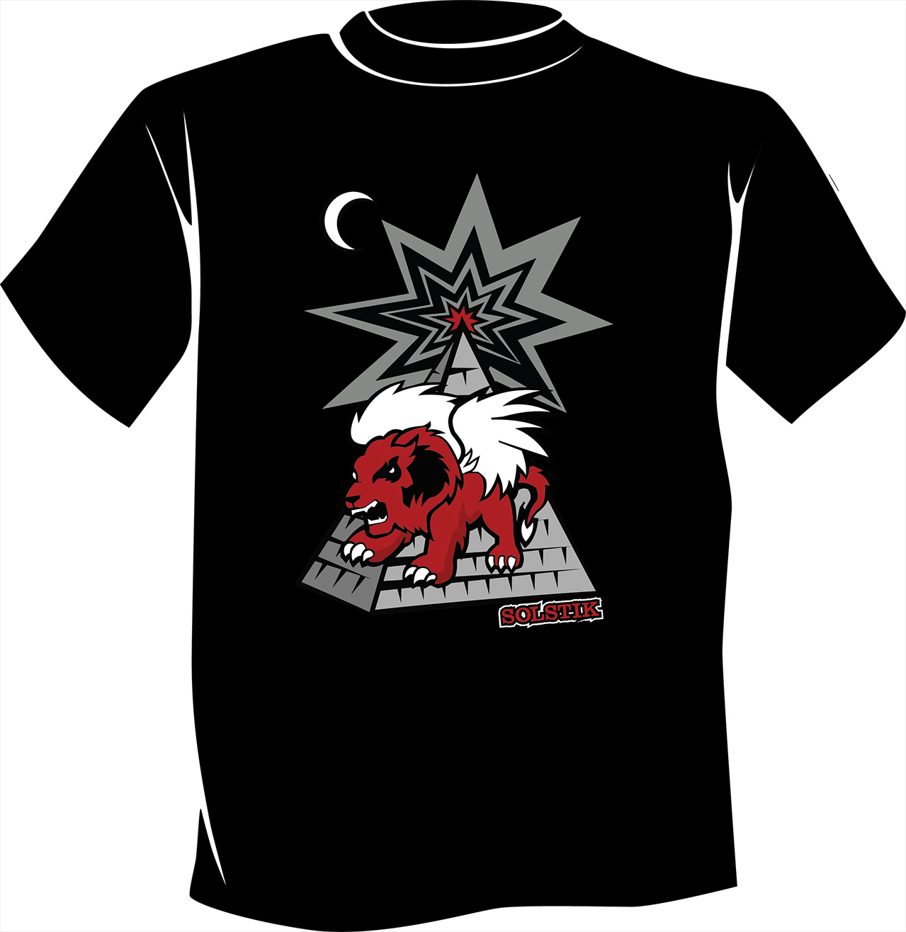 Lion Pyramid T-Shirt